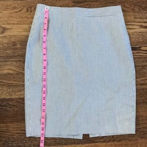 J. Crew Skirts - Jcrew seersucker no2 pencil skirt sz 4p